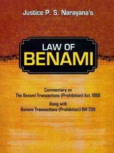 LAW OF BENAMI