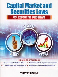 CAPITAL MARKET AND SECURITIES LAWS