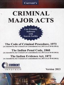 CRIMINAL MAJOR ACTS (CD)