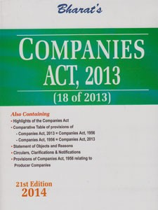 COMPANIES ACT, 2013 WITH COMMENTS