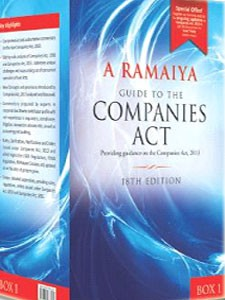 A RAMAIYA  GUIDE TO THE COMPANIES ACT
