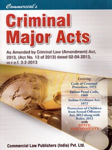 CRIMINAL MAJOR ACTS (Pocket)