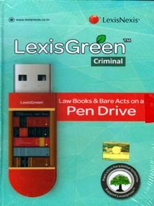 CRIMINAL LAW (PEN DRIVE Law Books & Bare Acts)