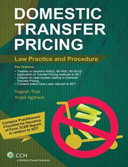 DOMESTIC TRANSFER PRICING LAW PRACTICE AND PROCEDURE