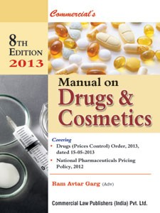 MANUAL ON DRUGS & COSMETICS