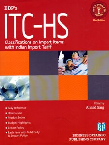 ITC-HS CLASSIFICATIONS ON IMPORT ITEMS WITH INDIAN IMPORT TARIFF