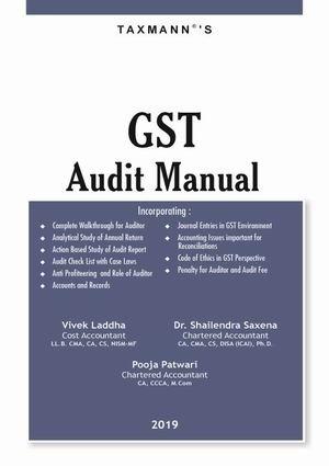 GST AUDIT MANUAL