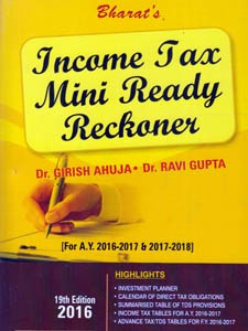 INCOME TAX MINI READY RECKONER