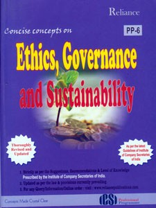 CONCISE CONCEPTS ON ETHICS, GOVERNANCE AND SUSTAINABILITY (PP-6)