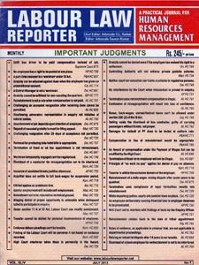 LABOUR LAW REPORTER  (LLR)