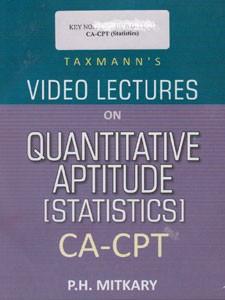 VIDEO LECTURES ON QUANTITATIVE APTITUTIDE CA-CPT