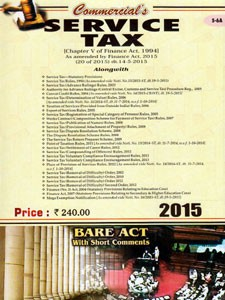 SERVICE TAX (BARE ACT)