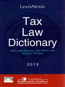 TAX LAW DICTIONARY