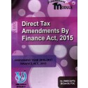 DIRECT TAX AMENDMENTS BY FINANCE ACT 2015