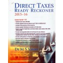 DIRECT TAXES READY RECKONER 2015-16