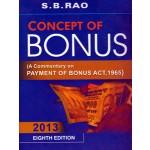 CONCEPT OF BONUS
