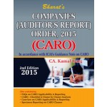COMPANIES (AUDITOR'S REPORT) ORDER, 2015 (CARO)