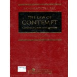 THE LAW OF CONTEMPT (Contempt of Court and Legislatures)