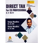 DIRECT TAX FOR CS PROFESSIONAL A.Y.2016-17