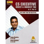 CS EXECUTIVE DIRECT & INDIRECT TAX A.Y. 2016-2017