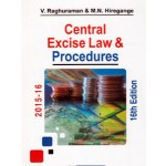CENTRAL EXCISE LAW & PROCEDURES