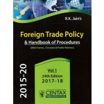 FOREIGN TRADE POLICY & HANDBOOK OF PROCEDURES (VOLUME-1)