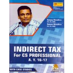 INDIRECT TAX FOR CS PROFESSIONAL A.Y. 2016-17
