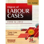 DIGEST OF LABOUR CASES 1990 TO 2013