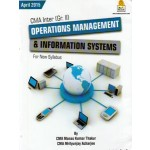 OPERATION MANAGEMENT AND INFORMATION SYSTEMS (CWA INTER)