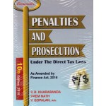 PENALTIES AND PROSECUTION UNDER THE DIRECT TAX LAWS