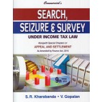 SEARCH, SEIZURE & SURVEY UNDER INCOME TAX LAW
