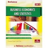BUSINESS ECONOMICS AND STATISTICS (CSF-3)
