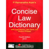 CONCISE LAW DICTIONARY (With Legal Maxims, Latin Terms, and Words & Phrases)