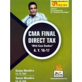 CMA FINAL DIRECT TAX A.Y.2016-2017