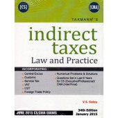 INDIRECT TAXES LAW AND PRACTICE